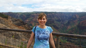 Me at Waimea Canyon - Kauai