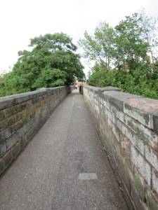 City Wall in Chester