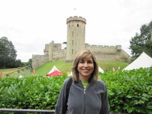 Another view of Warwick Castle